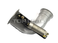 SINOTRUK HOWO  exhaust pipe assembly WG9725541041