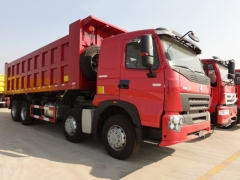 Easy installation Hot Sale 40Ton Tipper, SINOTRUK HOWO A7 8x4 Dump Truck