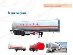 New Design Best Selling Oil Tank Semi Trailer, Fuel Tank Trailer, Tank Semi Trailer